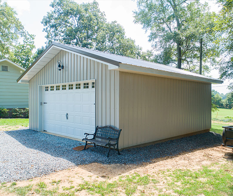 Metal Siding Building
